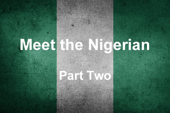 Meet the Nigerian – Part Two